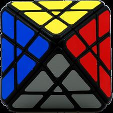 Octahedron 4x4x4 - Black Body -