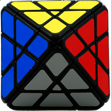 Octahedron 4x4x4 - Black Body - Other Rotational Puzzles