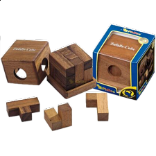Chance Cube - European Wood Puzzles