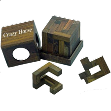 Crazy Horse - European Wood Puzzles