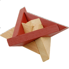 Star of David - Wooden Puzzle -