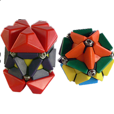 Group Special - a set of 2 rotational puzzles - Rubik's Cube & Others