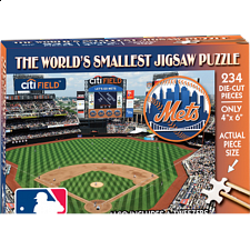 World's Smallest Jigsaw Puzzle - MLB - New York Mets - World's Smallest Pieces