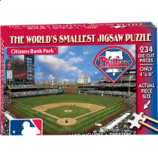 World's Smallest Jigsaw Puzzle - MLB - Philadelphia Phillies - World's Smallest Pieces
