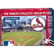 World's Smallest Jigsaw Puzzle - MLB - St. Louis Cardinals - World's Smallest Pieces