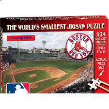 World's Smallest Jigsaw Puzzle - MLB - Boston Red Sox - World's Smallest Pieces