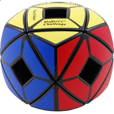 Pillowed Holey Skewb Cube - Black -
