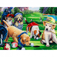 Furry Friends - Putting Puppies - Jigsaws