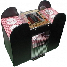 6 Deck Automatic Card Shuffler - Card Games