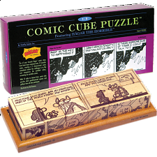 Comic Cube Puzzle - Hagar the Horrible - Other Wood Puzzles