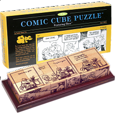 Comic Cube Puzzle - Shoe - Other Wood Puzzles