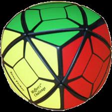 Pillowed Skewb Cube - Black -
