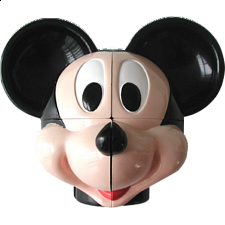 Mickey Puzzle Head