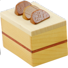 Karakuri Cake #2 - Fruit Cake - Other Japanese Puzzle Boxes