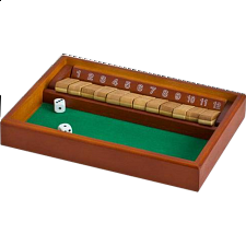 Shut the Box - 12 - Board Games