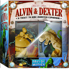 Ticket to Ride - Alvin and Dexter Monster Expansion - Games & Toys
