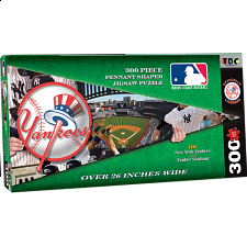 New York Yankees MLB Pennant Shape - Shaped