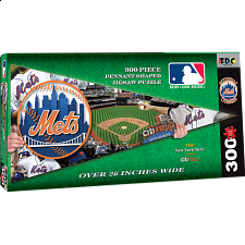 New York Mets MLB Pennant Shape - Shaped