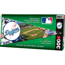 Los Angeles Dodgers MLB Pennant Shape - Shaped