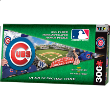 Chicago Cubs MLB Pennant Shape - Shaped