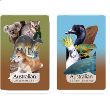 Playing Cards - Australian Wildlife Trivia - Card Games