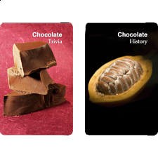 Playing Cards - Chocolate Facts -