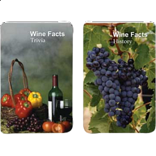 Playing Cards - Wine Facts - Games & Toys