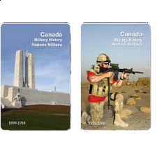 Playing Cards - Canada Military History Facts - Games & Toys