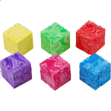 Marble Cube - 6-Pack - Foam Puzzles
