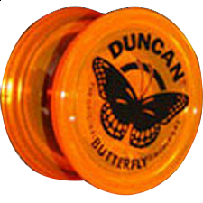 Butterfly Yo-Yo - Orange - Yo Yo's