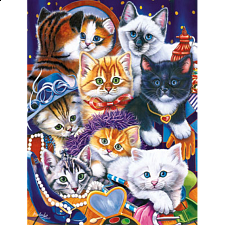 Playful Paws - Dress up Kittens - 101-499 Pieces