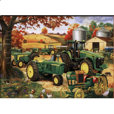 John Deere - Legacy of Deere - 1000 Pieces