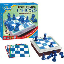 Solitaire Chess - Chess Sets - Board & Pieces