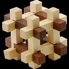 Kugel Im Kafig - European Wood Puzzles