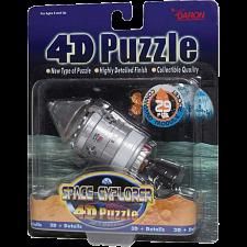Command Module Rocket - 4D Puzzle