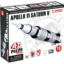 Apollo 11 Saturn V - 4D Puzzle - Puzzles - Children