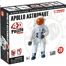 Apollo Astronaut - 4D Puzzle - Puzzles - Children