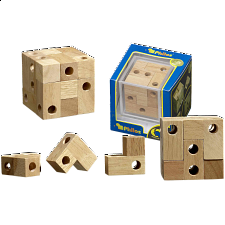 Vista Cube - European Wood Puzzles