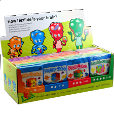 Happy Cube - set of 48 (2 x 24 styles) - HC1 -