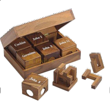 Philos-Cube Edition II - European Wood Puzzles