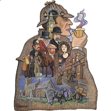 Shaped Jigsaw - Sherlock Holmes