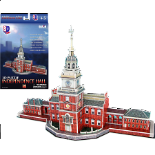 Independence Hall - 3D Jigsaw - 3D