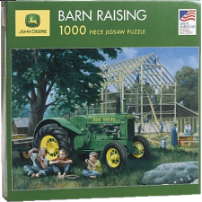 John Deere - Barn Raising - 1000 Pieces