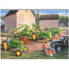 John Deere - Shelling Days - 1000 Pieces