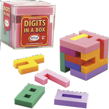 Digits In A Box - Eric Harshbarger