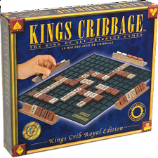 Kings Cribbage - Royal Edition - Board Games