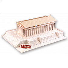 The Parthenon - 3D Jigsaw - 3D