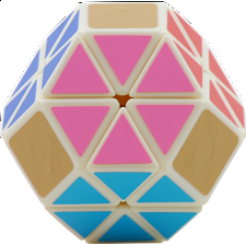 Christoph Bandelow's Jewel - White Body - Rubik's Cube & Others