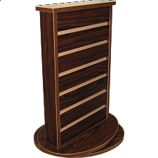 Counter Stand -  Wooden - 2 Sided -