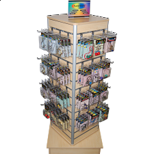 Floor Stand - 4 Sided (157 Puzzles + Display ) -